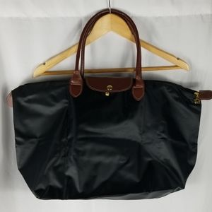Foldable Black Water Resistant Laptop Bag